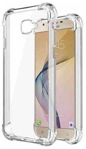 Samsung Galaxy J5 Prime Rubber Back Cover By DMJHP ( Transparent )