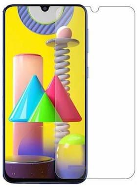 DMJHP Tempered Glass Samsung Galaxy M31 Transparent
