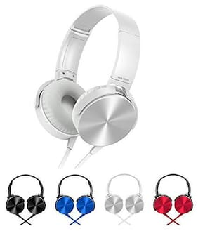 DOMAZO On-Ear Wired Headphone ( Assorted )