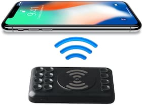 dott Wireless 5000 mAh Wireless Fast Charging Power Bank - Black