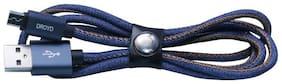DROYD Micro usb - 1-1.5m , Blue