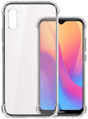 DRUTHERS Bumper Case For Redmi 9A;Xiaomi Redmi 9i (Transparent)