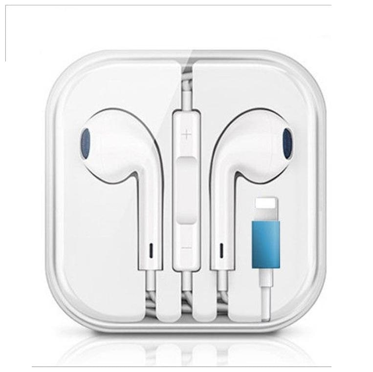 EBR Lightning Connector Wired Headset  Wired in ear with Bluetooth  In Ear Wired Headphone   White   by EBR