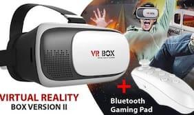 Elektron VR BOX 2.0 Virtual Reality Glasses with remote controller