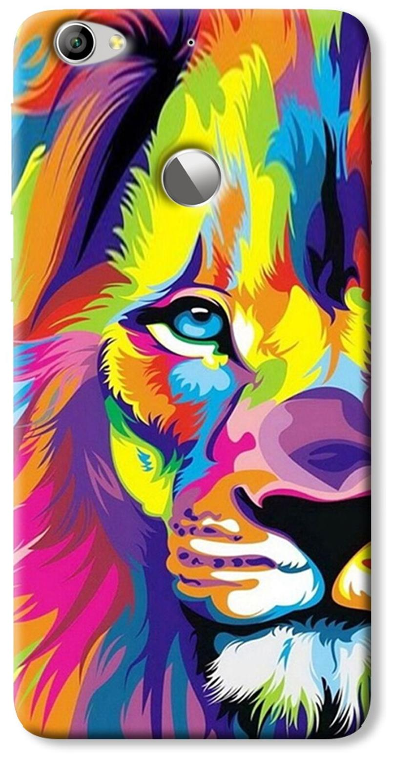 elove Designer Hybrid Printed Case Cover   [Hard PC] [Slim fit] [Lightweight] [Defender] Back Cover for LeEco 1s / LeTv Le 1s by Elove Technologies