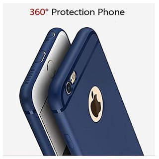 big sale c4399 6d3cd Emartos Apple iphone 6 and 6s Back Cover With Line TPU for Apple iphone 6  and 6s (Blue)