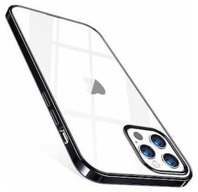 Enflamo Silicone Back Cover For Apple iPhone 12 Pro ( Transparent )