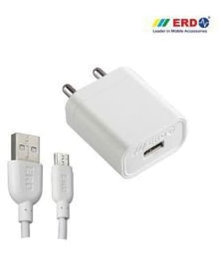 ERD 1 AmP Fast USB Mobile Charger Compatible for all Android Mobile