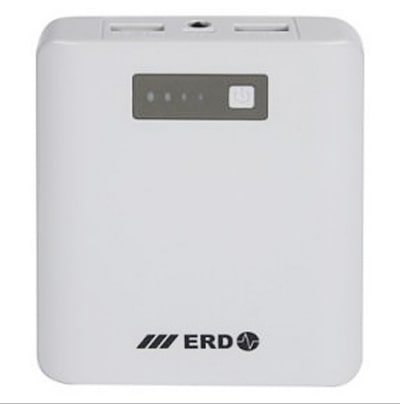 ERD 10400 mAh Power Bank with 1 Year Warranty