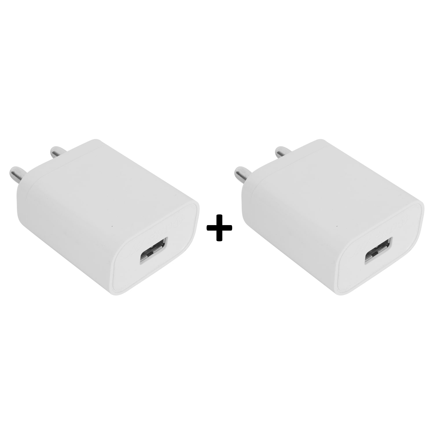 ERD 2.1 AMP Fast Charger for All Android Mobile  Pack of 2