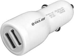 ERD CC-32 USB DOCK 3 A Fast Charging Car Charger - 2 USB Ports