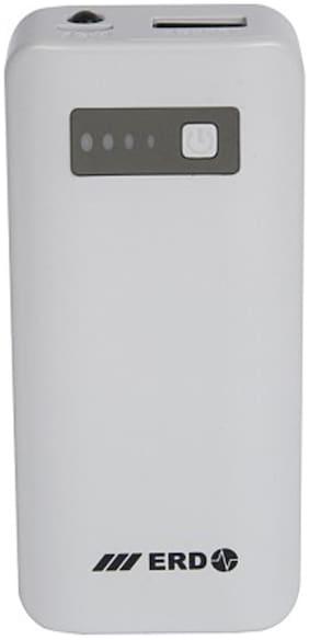 ERD 5200 mAh Power Bank (White)