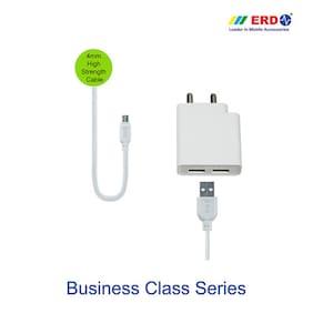 ERD TC 65 BC Micro USB 5V 2.4 Amp Dual Charger