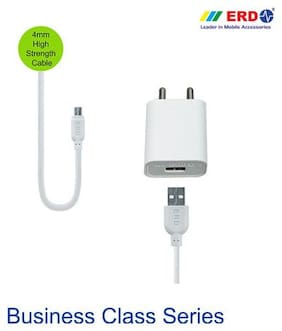 ERD USB Mobile Charger with Micro USB Data Cable 5V 2.4 Amp Business Class (TC-55)