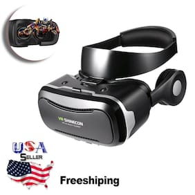 Ergonomical VR Virtual Reality Glasses 120 ° 3D 1080P Headset For Smart 8O