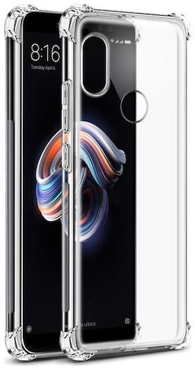 EXOTIC FLOURISH Soft Back Cover For Redmi Note 5 Pro (Transparent)