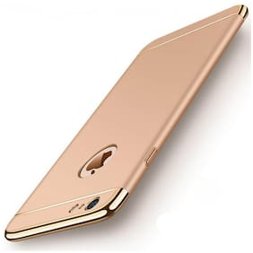 Apple iPhone 6 Polycarbonate Back Cover By EXOTIC FLOURISH ( Gold )