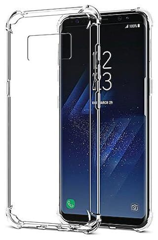 Samsung Galaxy S8 Silicone Soft Back Cover By EXOTIC FLOURISH ( Transparent )