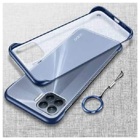 OPPO F17 Pro Polycarbonate Back Cover By EXOTIC FLOURISH ( Blue )