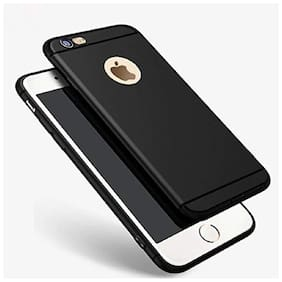 Apple iPhone 6s Plus Silicone Back Cover By EXOTIC FLOURISH ( Black )