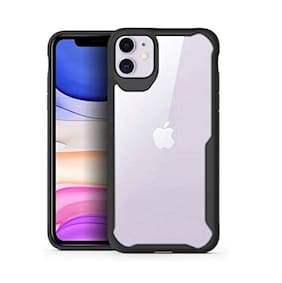 Apple iPhone 11 Silicone Back Cover By EXOTIC FLOURISH ( Black )
