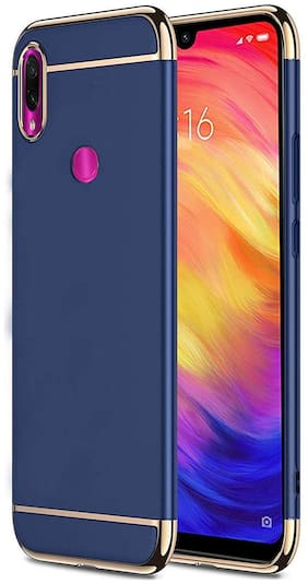 Redmi Note 7 Pro Polycarbonate Back Cover By EXOTIC FLOURISH ( Blue )