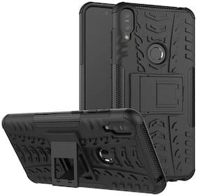 Exotic Flourish Mobile Polycarbonate Back Cover For Asus Zenfone Max Pro M1 (Black)