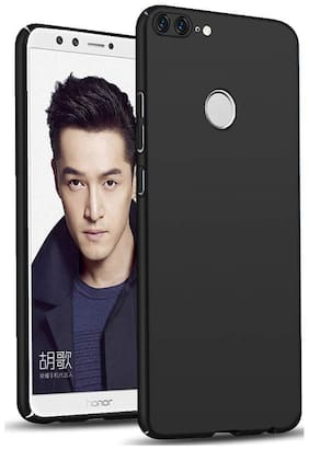 Honor 9 Lite Polycarbonate Back Cover By EXOTIC FLOURISH ( Black )