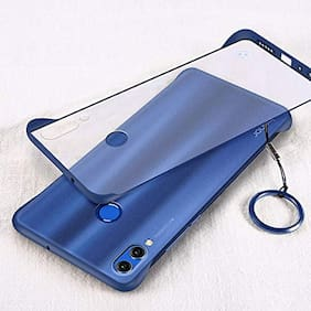 EXOTIC FLOURISH Polycarbonate Back Cover For Honor 8x ( Blue )