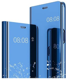 Samsung Galaxy M31s Polycarbonate Flip Cover By EXPLOCART ( Blue )