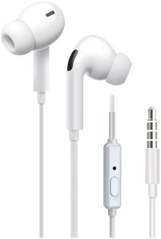 EXTRA BASS SUPER BASS 02 In-Ear Wired Headphone ( White )