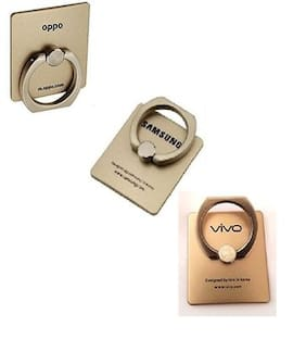 Fam Mobile Ring Holder in Gold Color (3 Pieces)