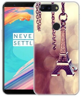 Fashionury OnePlus 5T Back Cover Printed Slim Soft Designer Flexible Shock Proof TPU Back Case Cover One Plus 5T Mobile Phone