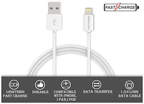 FAST CHARGE LIGHTNING USB DATA CABLE FOR ALL APPLE DEVICES