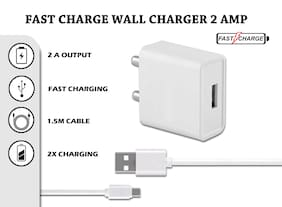 Sowing Happiness White Wall Charger