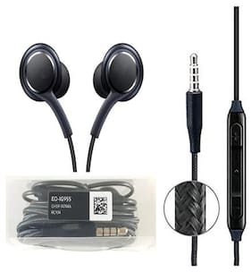 Fast Delight Compatible Mega 2 In-Ear Wired Headphone ( Black )