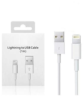 S4 Lightning cable - 1 mtr , White
