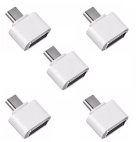 Fedus OTG Cable Micro USB to USB OTG Cable On The Go OTG Cables Connector Adapter For Android Mobiles  Smartphone and Tablet - White