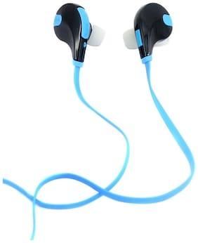 Fleejost In-Ear Wired Headphone ( Blue & Black )