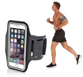 Fleejost Sports Running Jogging Gym Armband Case Cover Holder Compatible for All Smart Phones
