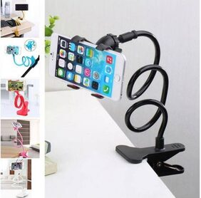 Flexible Long Arm Mobile Phone Holder For Car/Desktop/Table/Bed (Assorted)