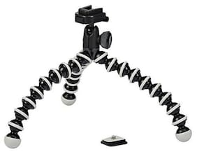 Flexible Mini TriPod For Camera  Dslr And Smartphones With Universal Mobile Attachment(ASSORTED COLOUR'S)