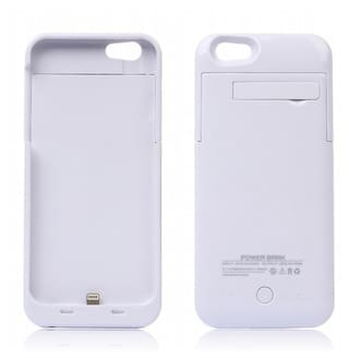 Flipfit Charging Case for IPHONE 5 , IPHONE 5S  (White)