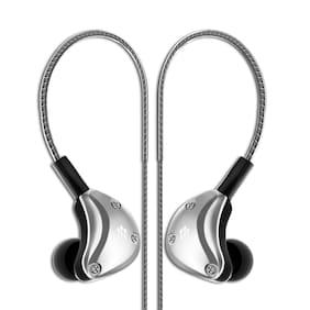 Florid BM007 In-Ear Wired Headphone ( Silver )