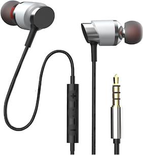 Florid BM786 In-Ear Wired Headphone ( Silver )