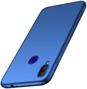 Flydigi Plastic Back Cover For Redmi Note 7 ( Blue )