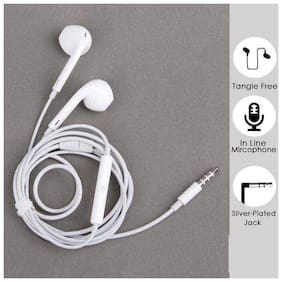Flying India HIGH POWER AND BASS In-Ear Wired Headphone ( White )