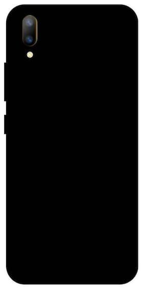 FOKATKART Polycarbonate Back Cover For Vivo V11 Pro ( Black )