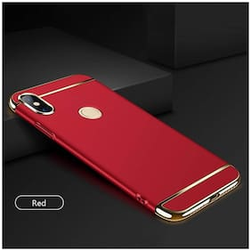 65709b7c34 Fokatkart XIAOMI REDMI Note 5 Pro Back Case Cover Electroplated Luxury  3-in-1