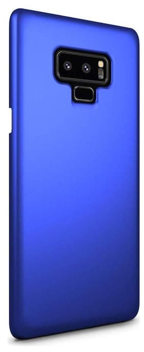 FOKATKART Plastic Back Cover For Samsung Galaxy Note 9 ( Blue )